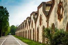 Crespi D'Adda - Village (Unesco) Royalty Free Stock Photos