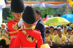 CREST Bhumibol βασιλιάδων Rama ΙΧ, στο 86ο εορτασμό γενεθλίων του Στοκ Φωτογραφία