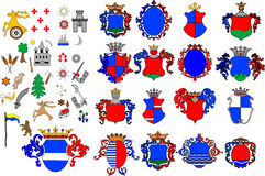 Crest collection Stock Photography