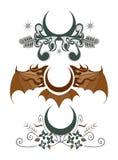Crest Design Set Royalty Free Stock Photos