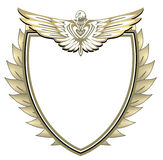 Crest with eagle Stock Images