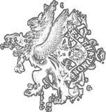 Crest emblem  Stock Photos