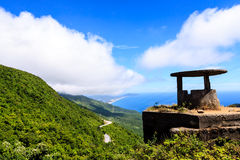 Crest of Hai Van Pass. On the road from Danang to Hue, Vietnam Royalty Free Stock Images