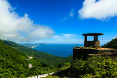 Crest of Hai Van Pass. On the road from Danang to Hue, Vietnam Stock Images