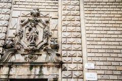 Crest on La Rambla Royalty Free Stock Photos