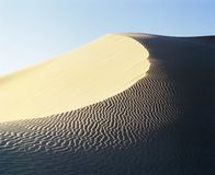 Crest of sand dune Royalty Free Stock Image