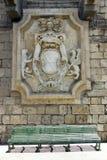 Crest statue in Syracuse. Ortigia island Stock Photos