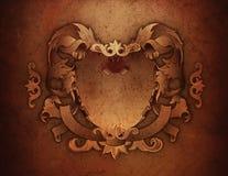 CREST van de Textuur van Grunge Royalty-vrije Stock Afbeeldingen