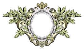 Cresta araldica royalty illustrazione gratis
