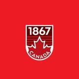 Cresta canadiense Foto de archivo