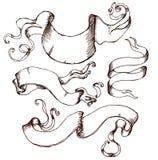 Cresta con los elementos del diseño del estilo del vintage, uso para el logotipo, marco Fotografía de archivo libre de regalías