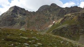 Cresta de montaña fotografía de archivo