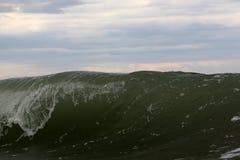 Cresta de onda grande foto de archivo