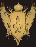 Cresta de oro Foto de archivo libre de regalías