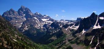 Cresta de Teton Imagen de archivo libre de regalías