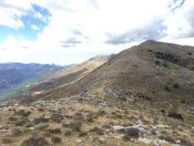 Cresta del paisaje de Cheiron Imagenes de archivo