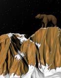 Cresta dell'orso Fotografie Stock