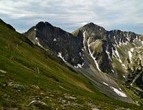 Cresta della montagna Immagini Stock