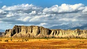 Cresta della montagna del serpente. Fotografia Stock