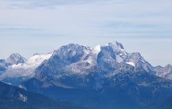 Cresta della montagna di Karwendel Fotografia Stock Libera da Diritti