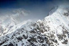 Cresta della montagna di McKinley Immagini Stock