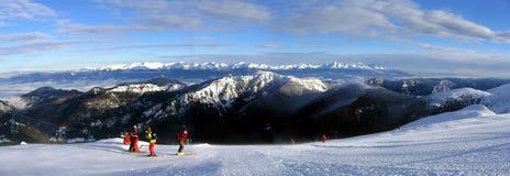 Cresta della montagna di Tatras Fotografie Stock Libere da Diritti