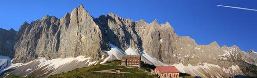 Cresta della montagna di Tiroler fotografia stock