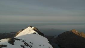 Cresta della montagna in Lofoten Fotografie Stock