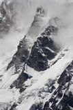 Cresta della montagna nel Nepal Immagini Stock Libere da Diritti