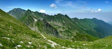 Cresta della montagna in Romania Immagine Stock Libera da Diritti