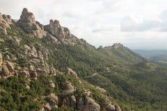 Cresta della torre della roccia Fotografia Stock Libera da Diritti