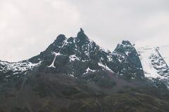 Cresta delle Ande del peruviano immagine stock