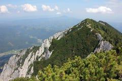 Cresta delle montagne immagini stock