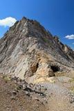 Cresta di Costabella - di Dolomiti immagini stock libere da diritti