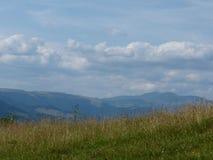 Cresta di Marmaros fotografie stock libere da diritti