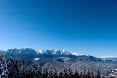 Cresta di montagna Immagini Stock