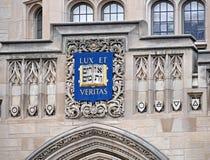 Cresta di Yale University fotografie stock
