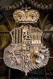 Cresta, fatta dalle ossa Fotografia Stock Libera da Diritti