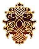 Cresta a filigrana decorata Fotografia Stock Libera da Diritti