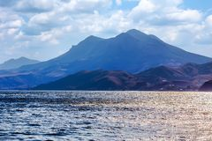 Cresta Kara - Dag della Crimea immagini stock libere da diritti
