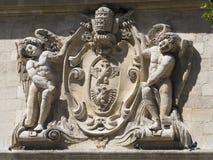Cresta medieval, Aviñón, Francia Imagen de archivo