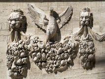 Cresta medieval, Aviñón, Francia Foto de archivo libre de regalías