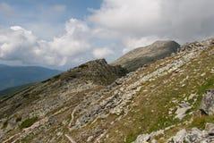 Cresta rocciosa Fotografia Stock