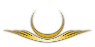 Cresta (vector) Imagen de archivo libre de regalías