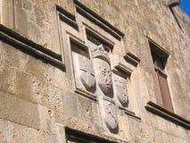Crestas medievales de la familia fotos de archivo libres de regalías