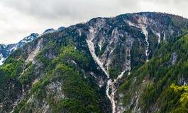 Creste della montagna Fotografia Stock