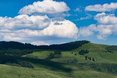 Crested ландшафт горы Колорадо butte стоковая фотография rf