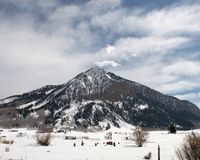 Crested Butte Royalty Free Stock Photo