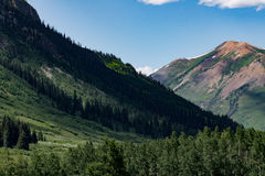 Crested butte colorado mountain landscape Royalty Free Stock Photography