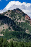 Crested butte colorado mountain landscape Royalty Free Stock Images